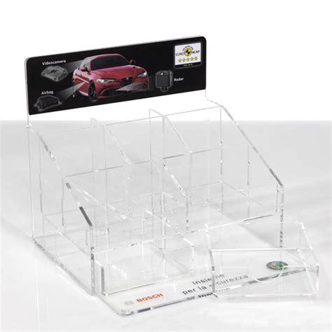 espositori da banco in plexiglass progettazione produzione vendita espositori plexiglas