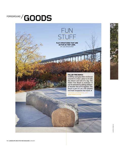 Lam Landscape Architecture Magazine Features Modular Landscape Architecture Magazine
