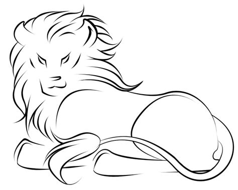 simple lion tattoo designs design by kiriska on deviantart