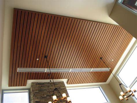 Slat Ceiling Possible Wood Slat Ceiling For Sunroom Wood Slats