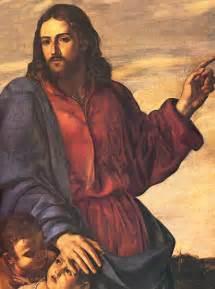 Pacecco de rosa jesus blesses the children mark 10 13 16 naples