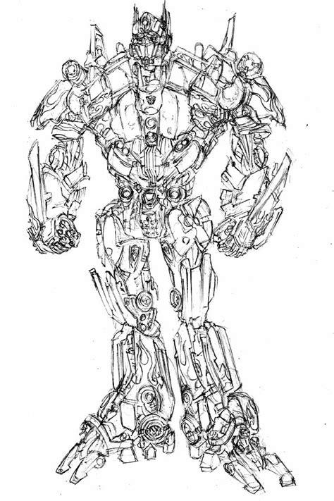 Mewarnai Robot Transformers - F Warna