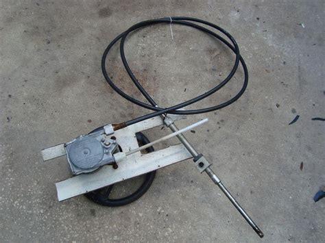 buy boat steering cable buy steering cable marine wheel wellcraft 19 foot teleflex