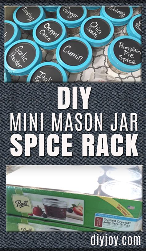 diy jar spice rack here s the secret to never searching for spices again