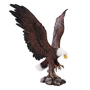 amazoncom large eagle home decor statue