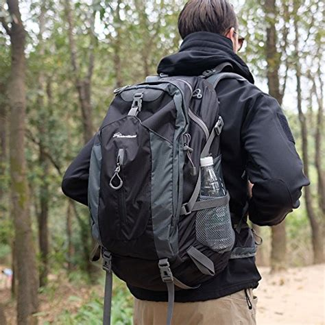 outdoormaster hiking backpack 50l hiking travel backpack w waterproof cover laptop