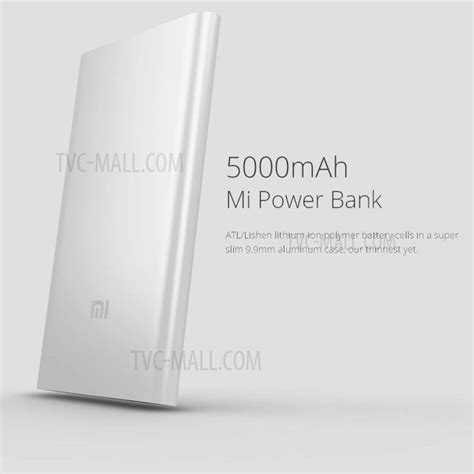 Power Bank Smart Xiaomi 9900mah Xiaomi 5000mah Universal Portable Power Bank For Xiaomi