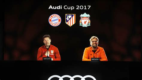 Audi Cup Finale by Audi Cup At Bayern Munich Fixtures Tv Channel Stream