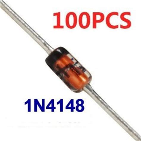 switching diode in4148 100pcs 1n4148 in4148 do 35 switching signal doide car electronics