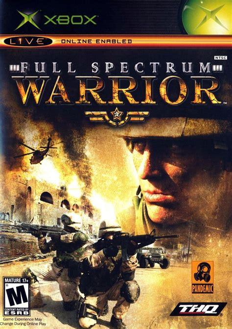 Warrior Ps2 Original spectrum warrior xbox