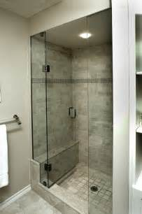 glass doors small bathroom: the glass door on stall shower open in and not pull out have a small
