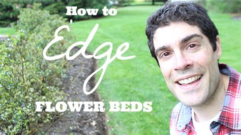how to edge flower bed how to edge a flower bed and make it look sharp all summer home repair tutor