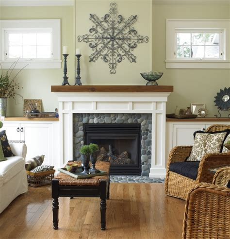 Faced Fireplace by Cape Cod Traditional Living Room Vancouver