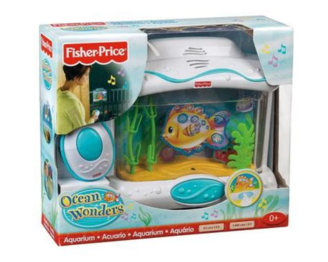 Crib Aquarium With Remote by Fisher Price Wonders Aquarium With Remote