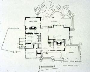 gamble house floor plan david b gamble house pasadena