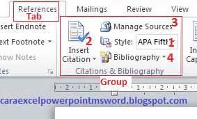 cara membuat kutipan dan daftar pustaka di word cara membuat kutipan dan daftar pustaka di microsoft word 2010