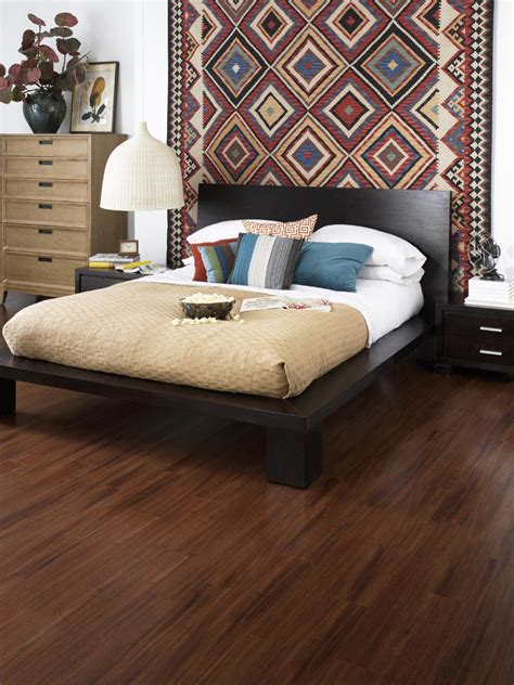Hardwood Floor Bedroom Decorative Bedroom Hacks For Minimizing Dust