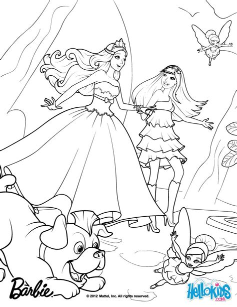 tori keira riff and the fairies coloring pages