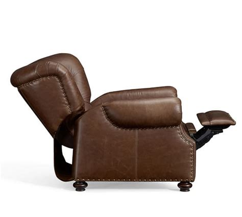 Pottery Barn Recliner by Ship Lansing Leather Recliner Pottery Barn