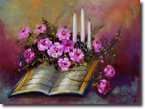 libro i fiori abilityart libro aperto con fiori e candele bocca