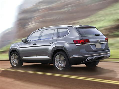 volkswagen atlas exterior new 2018 volkswagen atlas price photos reviews safety