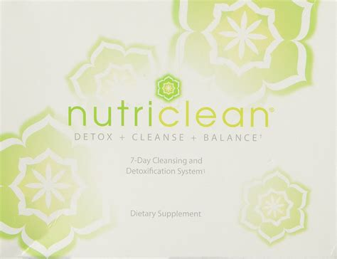 Nutriclean Detox by Nutriclean Liver Detox Kit Compliments Salon Spa