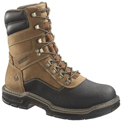 mens wolverine work boots s wolverine 174 8 quot corsair waterproof composite toe eh