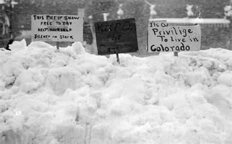Worst Blizzard photos denver s ten biggest march april snowstorms westword