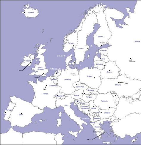 europe complete map unit 4 mr geography for