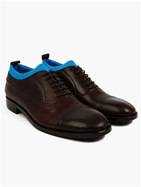 maison martin margiela oxford shoes maison martin margiela s neoprene insert leather