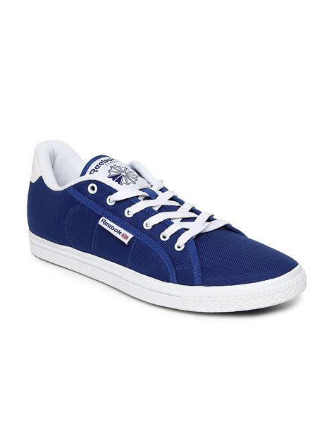 buy reebok classic blue on court iii lp casual shoes