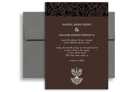 Inexpensive Modern Wedding Invitations by Inexpensive Modern Wedding Invitation Exle 5x7