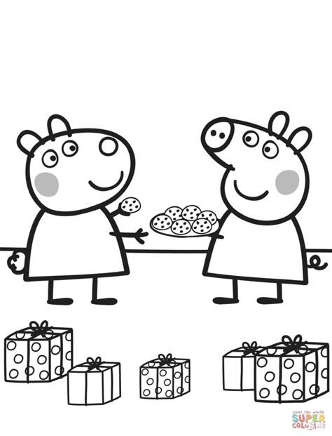 coloring pages peppa pig suzy sheep peppa pig coloring pages sketch coloring page