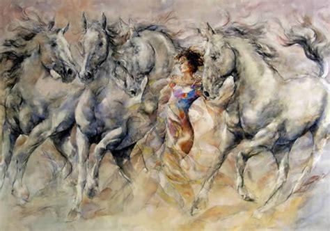 fotos de nenas mamando a caballos gary benfield 1965 figurative painter tutt art