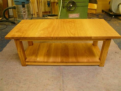 Handmade Oak Furniture - handmade oak coffee table quercus furniture