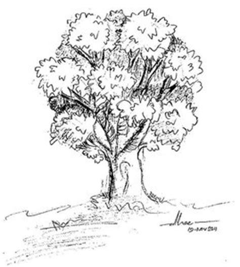 how to draw tree kumpulan kata yang tercecer