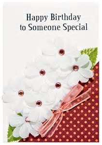 items similar to happy birthday to someone special greeting card on etsy