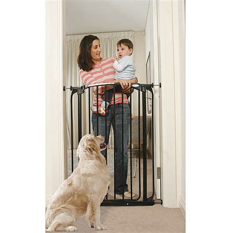 tall baby swings dreambaby chelsea extra tall auto close security gate with