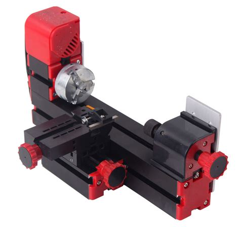 woodworking lathe machine mini motorized lathe machine diy tool metal woodworking