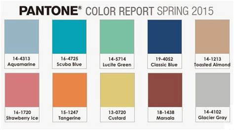 pantone color trends spring 2015 fashion color trends