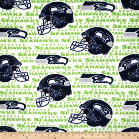 Nfl Home Decor by Nfl Fleece Seattle Seahawks Navy Green Discount Designer