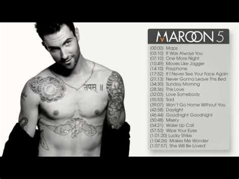 maroon 5 best songs best songs of maroon 5 bắprang s house