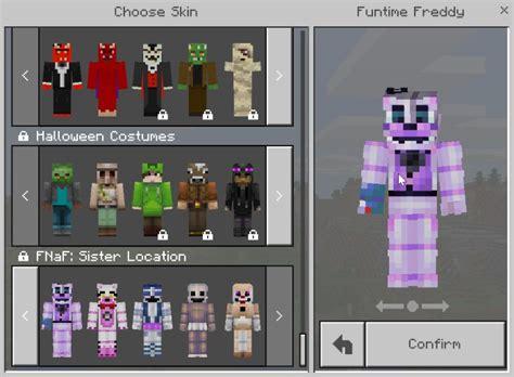 Pdf All Five Nights At Freddys Minecraft Skins by Five Nights At Freddy S Location Skin Pack