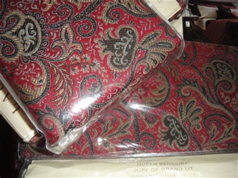 discontinued ralph lauren paisley bedding ralph lauren discontinued bleecker street red paisley