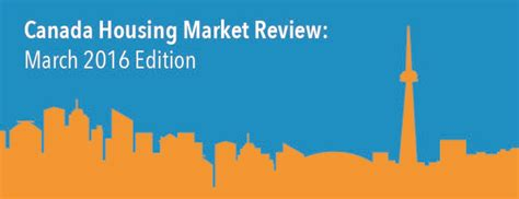 canada housing market review march 2016