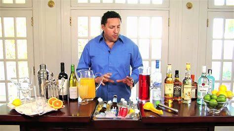 entertaining guests how to set up a home bar with manny hinojosa pottery barn