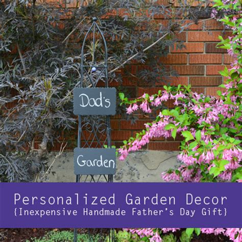 Personalized Garden Decor Personalized Garden Decor Inexpensive Handmade S Day Gift
