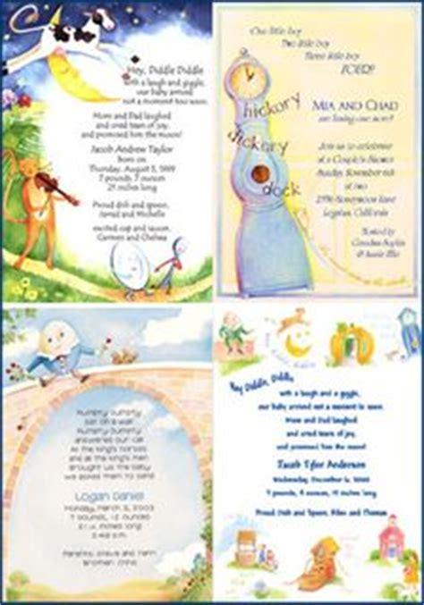 Baby Shower On Nursery Rhymes Nursery Rhyme Baby Shower The Sendo