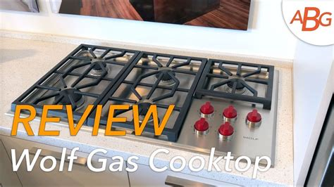 cooktops gas reviews wolf gas cooktop review rating cg365p s cg304p s