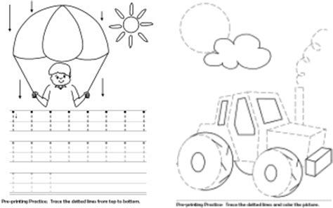 Kidzone Worksheets Tracers by Your Ot Your Ot